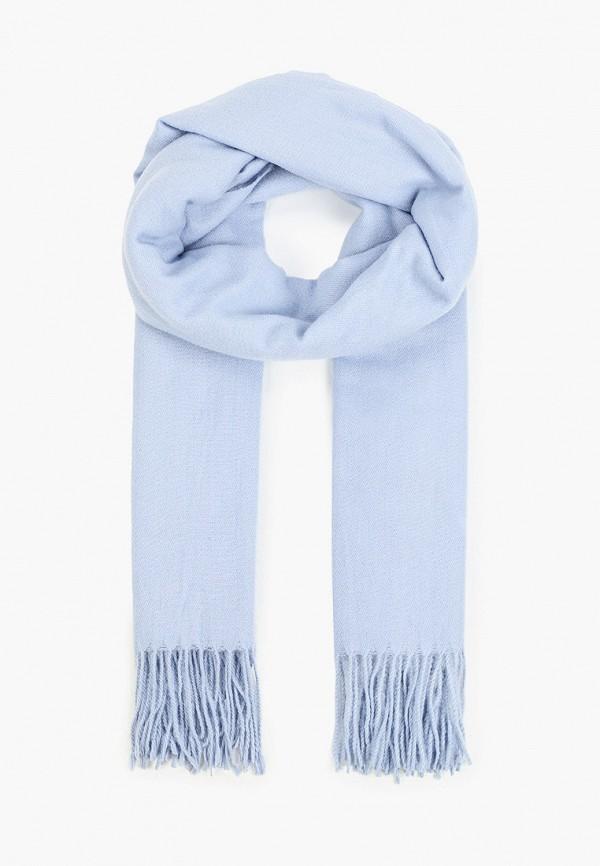 женский палантин zarina, голубой