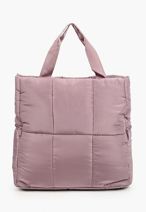 женская спортивные сумка zarina, фиолетовая