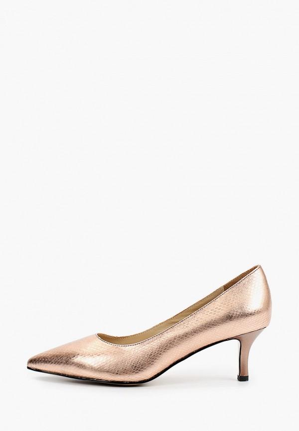 женские туфли-лодочки mascotte, золотые