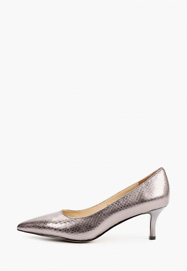 женские туфли-лодочки mascotte, серебряные