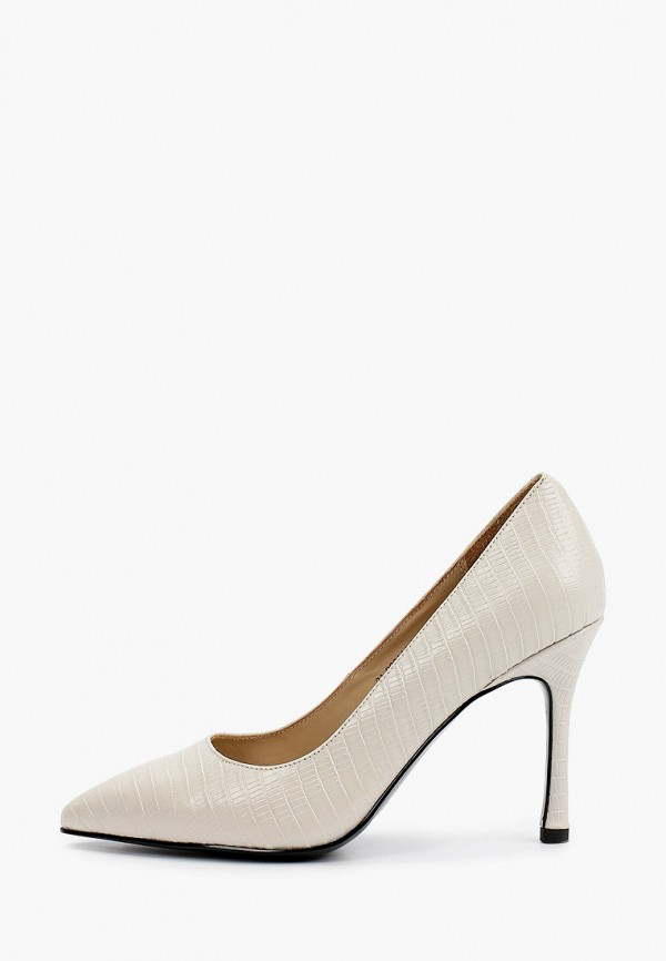 женские туфли-лодочки mascotte, бежевые