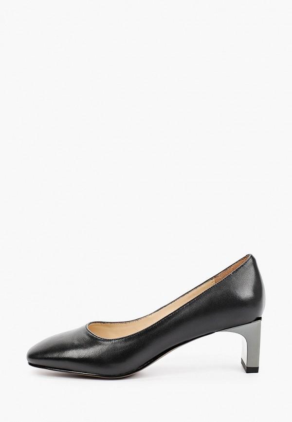 женские туфли с закрытым носом mascotte, черные