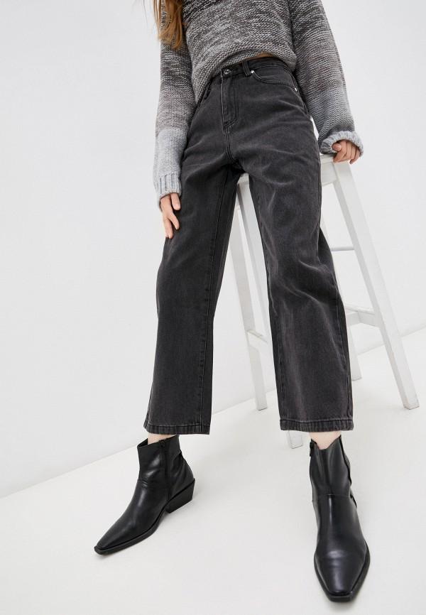 женские прямые джинсы baon, серые