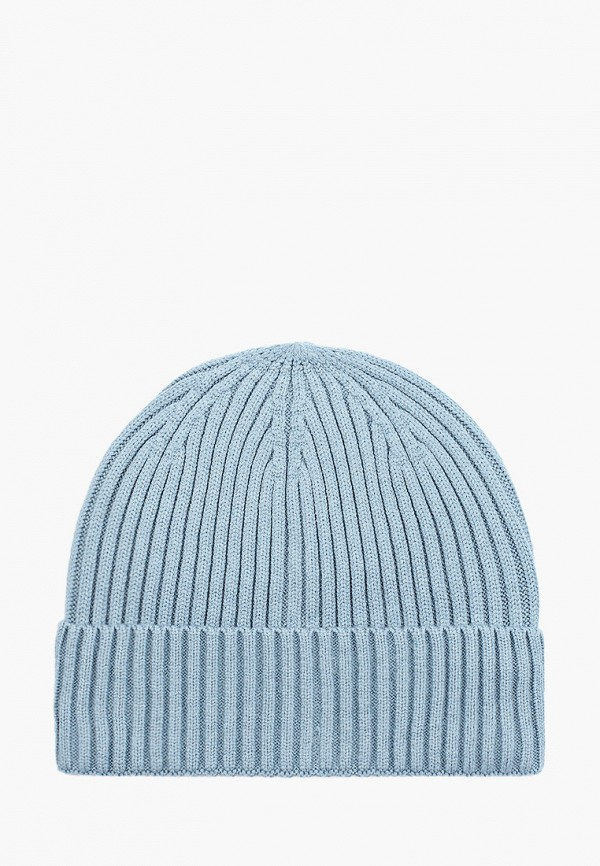 женская шапка befree, голубая