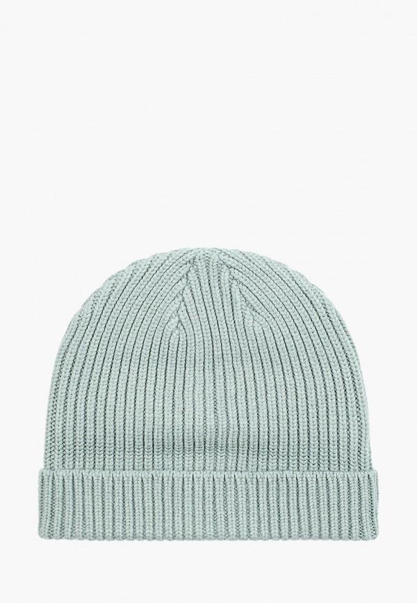 женская шапка befree, бирюзовая
