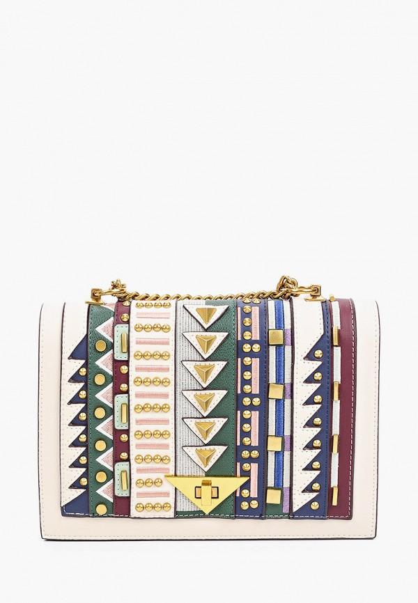 женская сумка через плечо mascotte, разноцветная