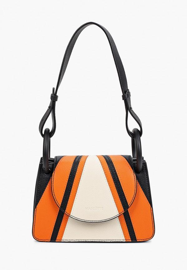 женская сумка с ручками mascotte, разноцветная