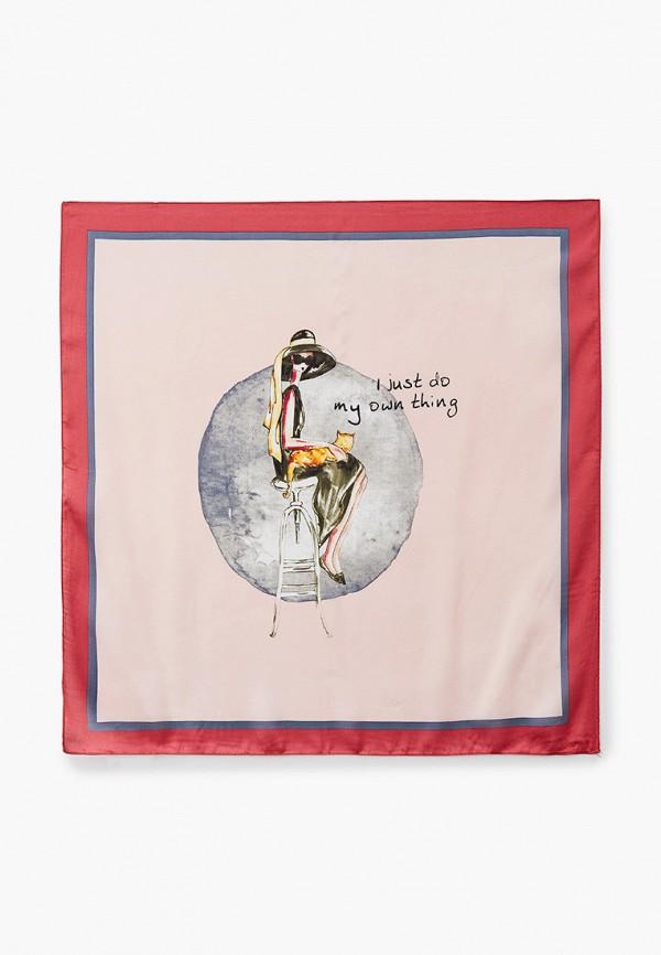 женский платок mascotte, розовый