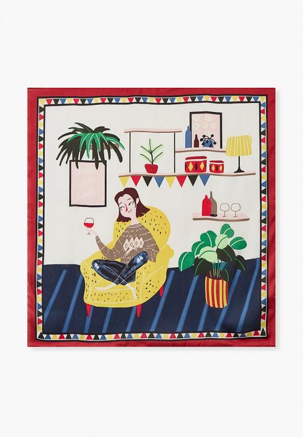 женский платок mascotte, разноцветный