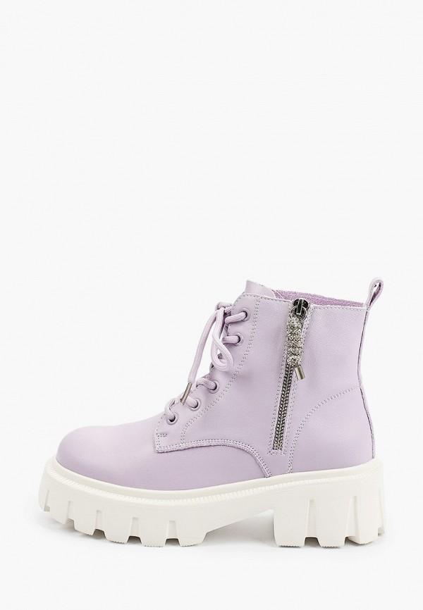 женские высокие ботинки sprincway, фиолетовые