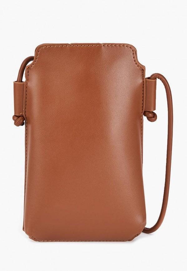 женская сумка через плечо jane's story, коричневая