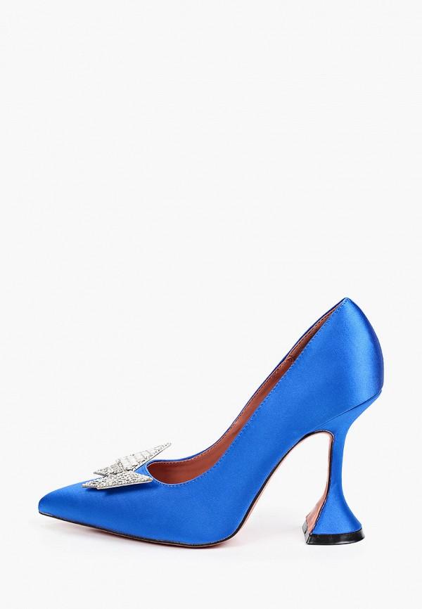 женские туфли-лодочки араз, синие