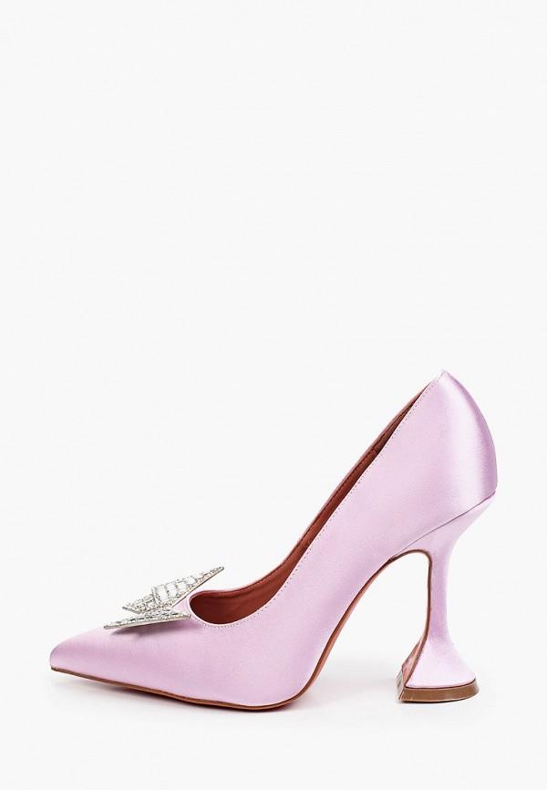 женские туфли-лодочки араз, розовые