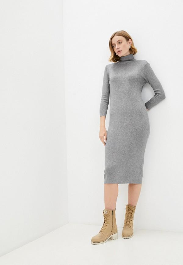 женское платье-свитеры vitacci, серое