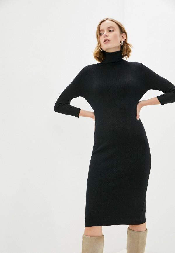 женское платье-свитеры vitacci, черное