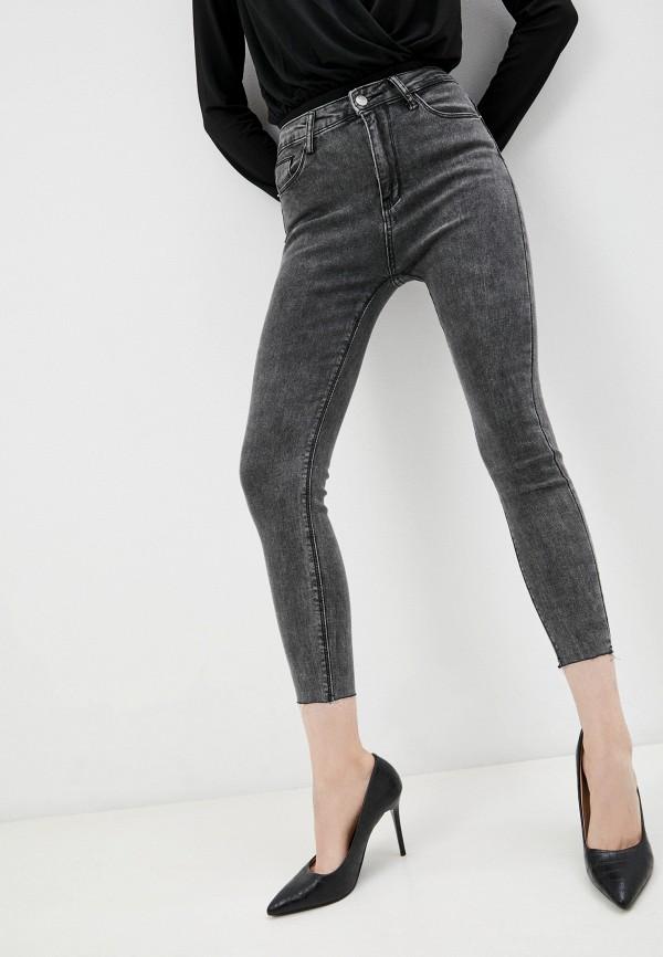женские джинсы скинни vitacci, серые