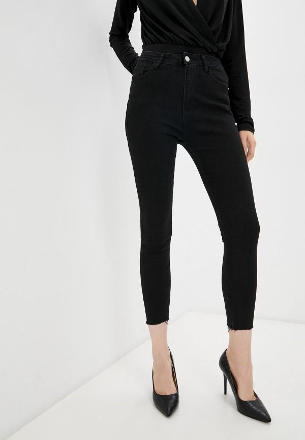 женские джинсы скинни vitacci, черные