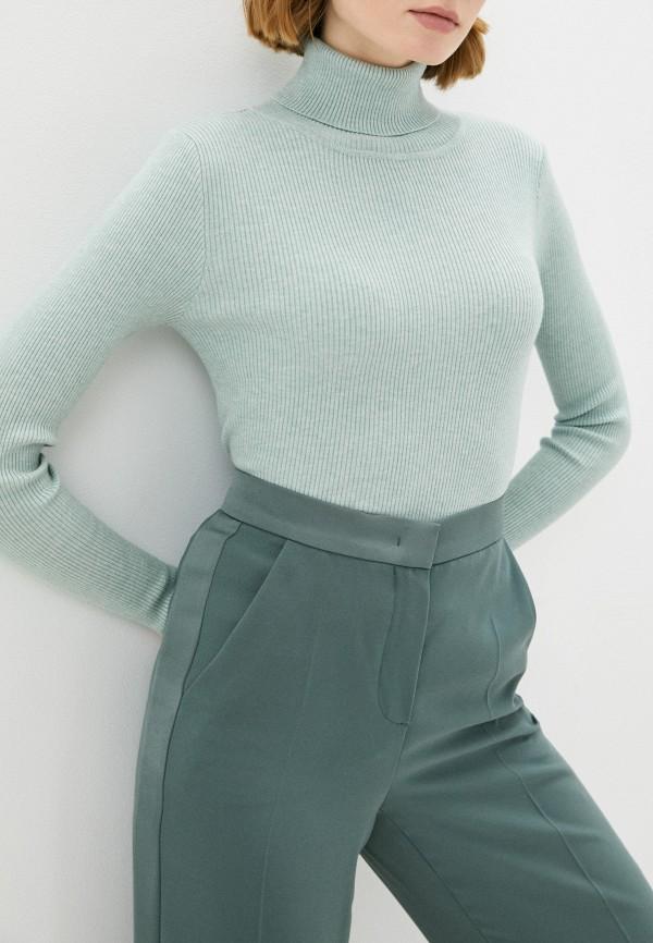 женская водолазка vitacci, зеленая