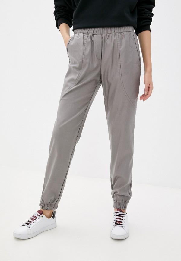 женские брюки джоггеры eliseeva olesya, серые