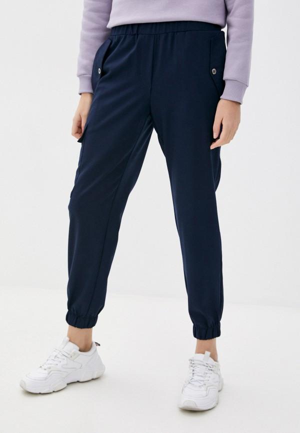 женские брюки джоггеры eliseeva olesya, синие