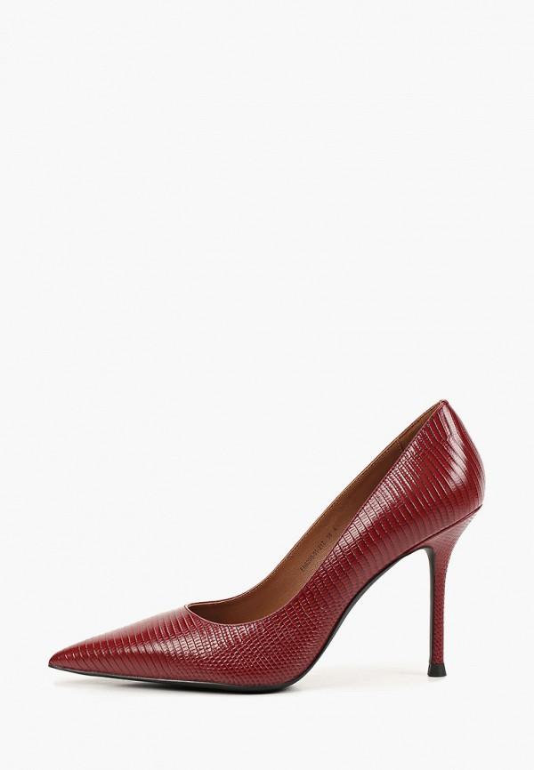 женские туфли-лодочки ekonika, бордовые