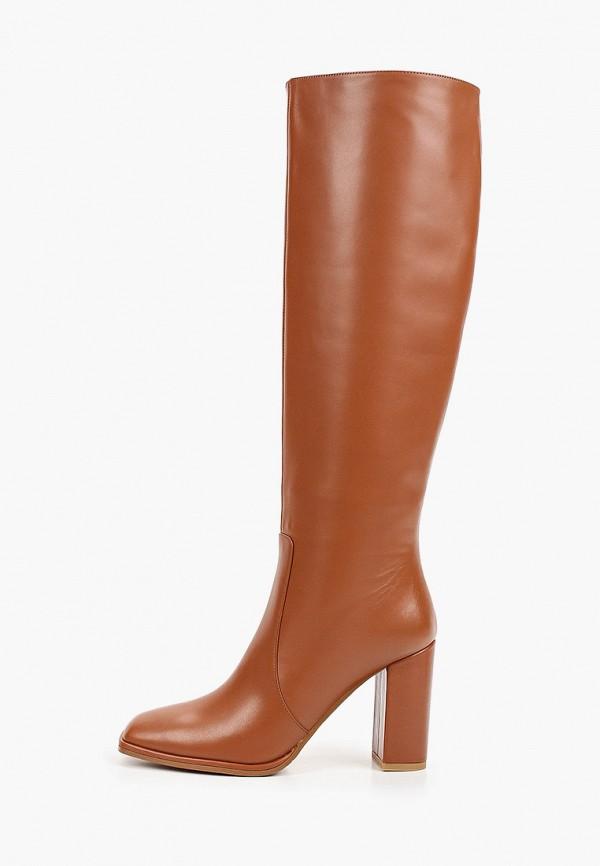 женские сапоги ekonika, коричневые