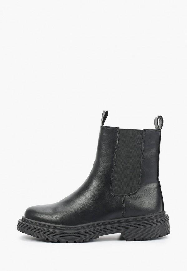 женские ботинки-челси keddo, черные