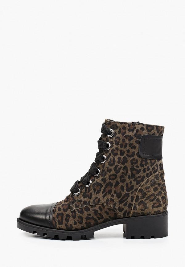 женские высокие ботинки donna d'oro, хаки