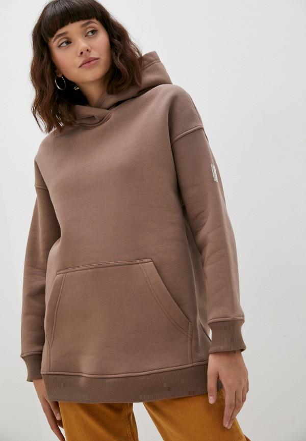 женские худи baon, коричневые
