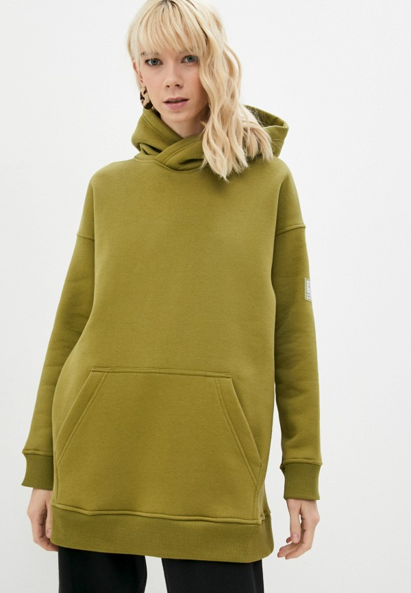 женские худи baon, зеленые