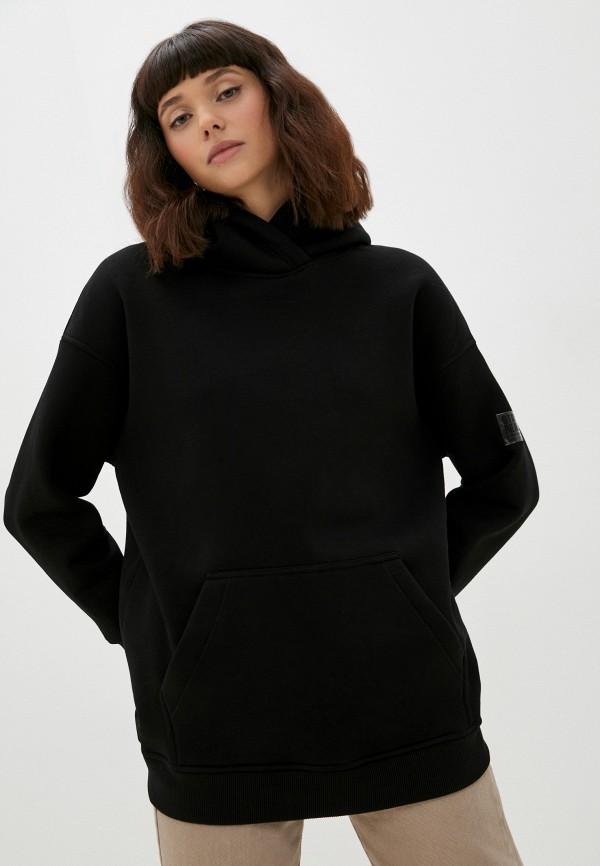 женские худи baon, черные