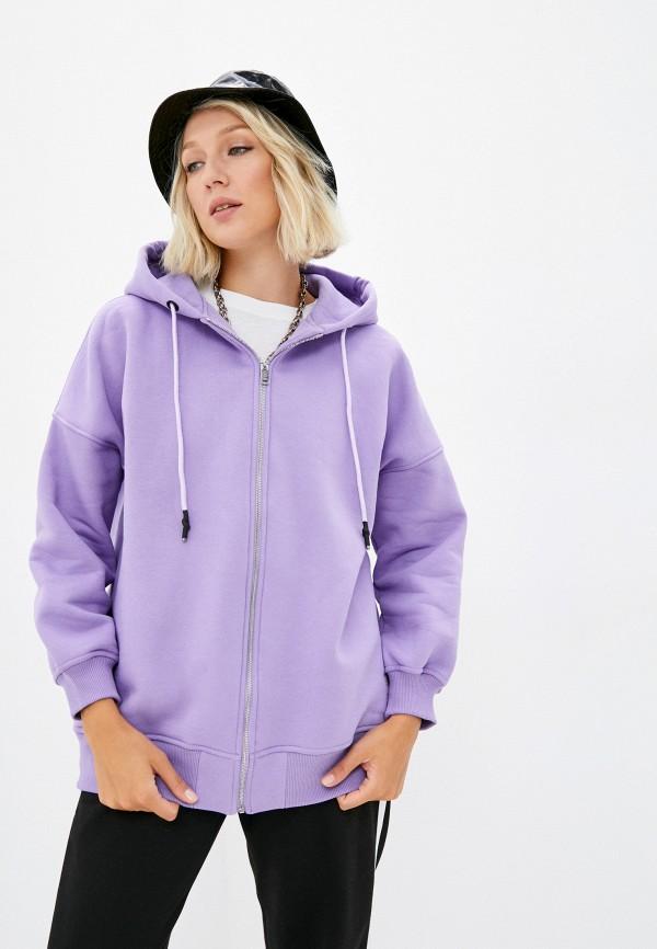 женская толстовка baon, фиолетовая