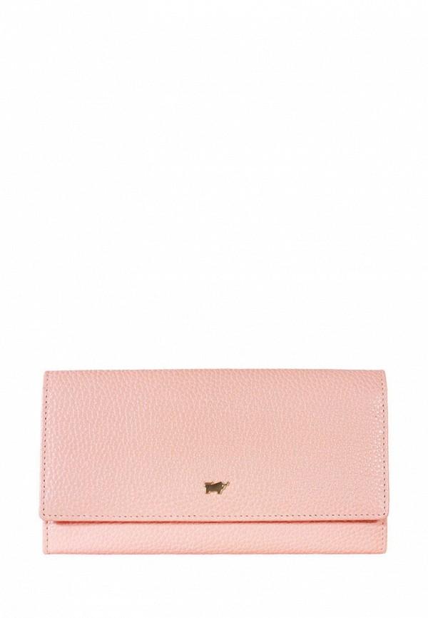 женский кошелёк braun bueffel, розовый