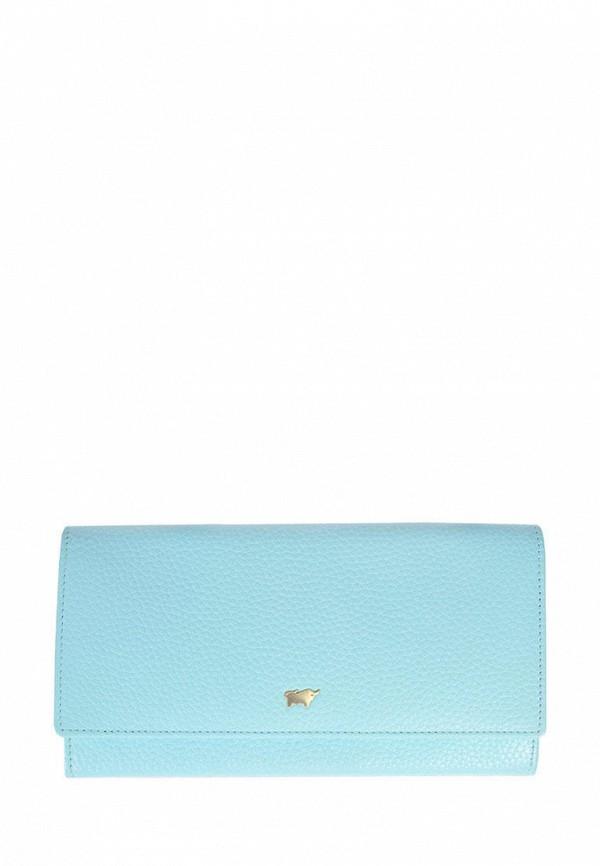 женский кошелёк braun bueffel, голубой