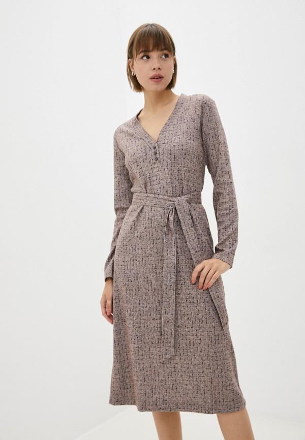 женское повседневные платье eliseeva olesya, розовое