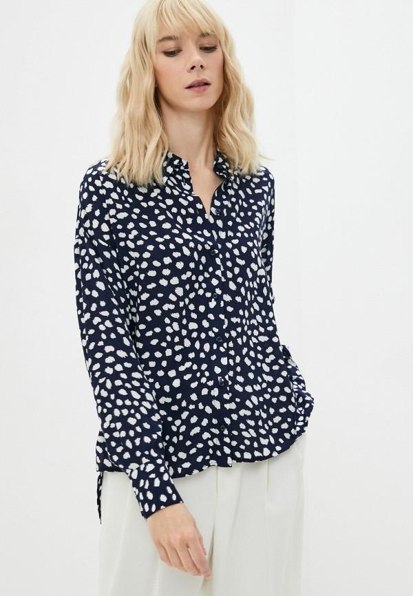 женская блузка с длинным рукавом baon, синяя