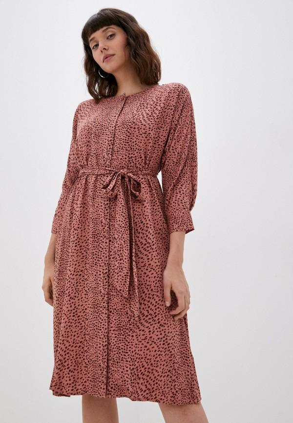 женское платье-рубашки baon, розовое