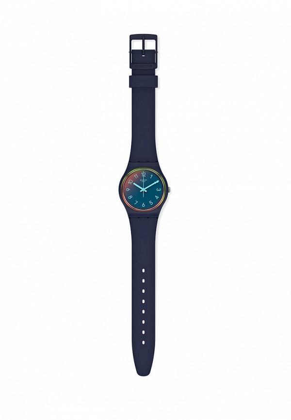 женские часы swatch, синие