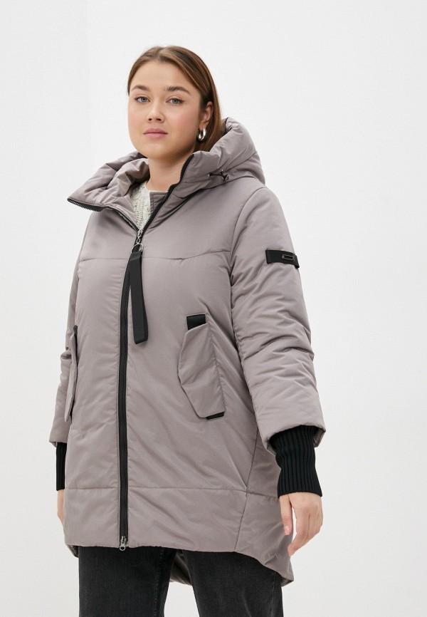 Куртка утепленная Grafinia бежевого цвета