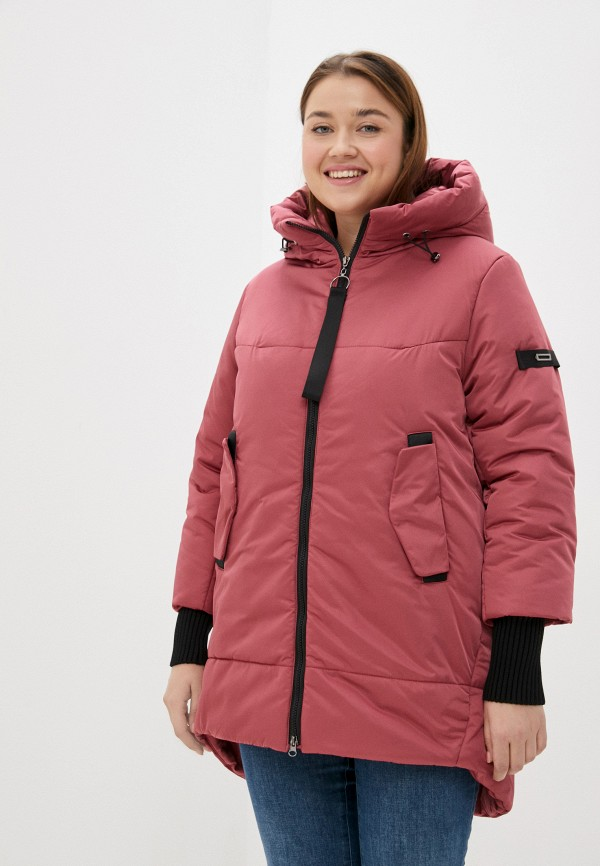 Куртка утепленная Grafinia розового цвета