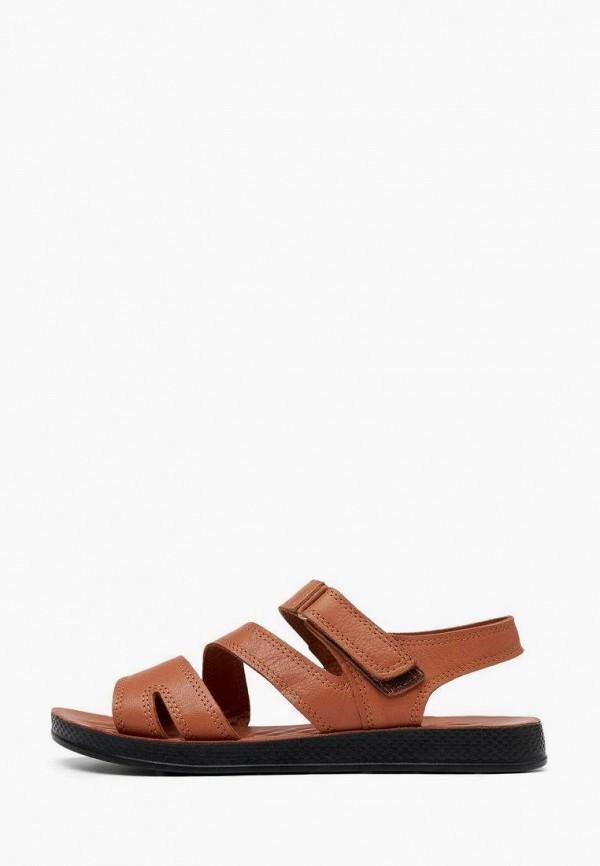 женские сандалии alessio nesca, коричневые