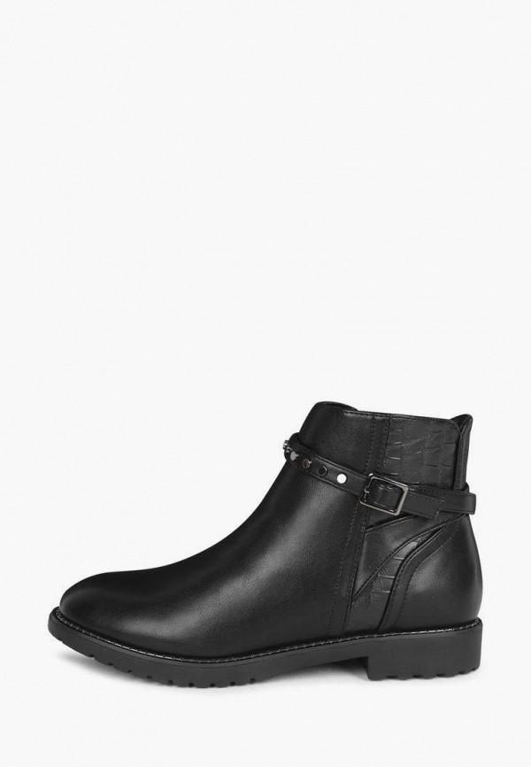 женские высокие ботинки t.taccardi, черные