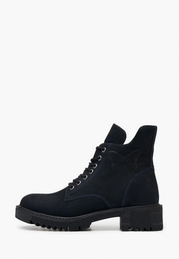 женские высокие ботинки alessio nesca, синие