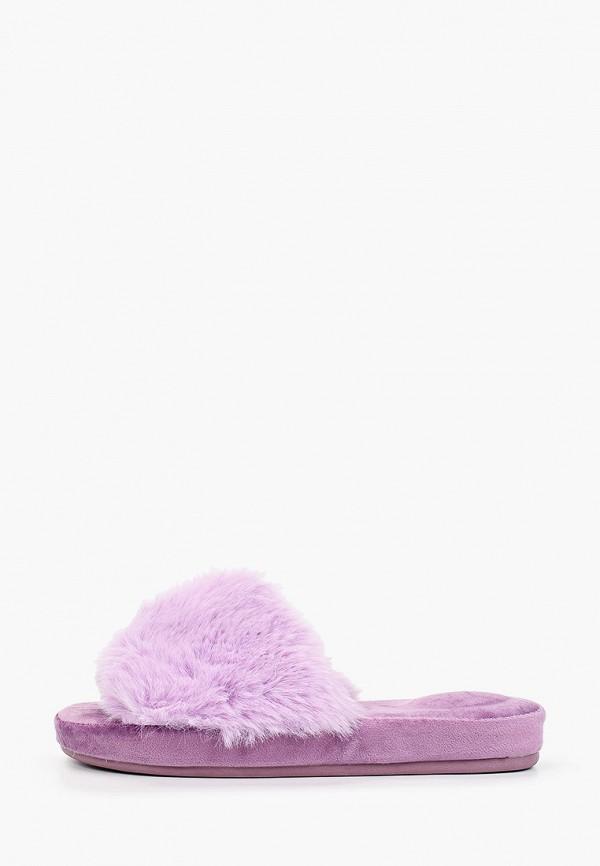 женские тапочки enjoin', фиолетовые