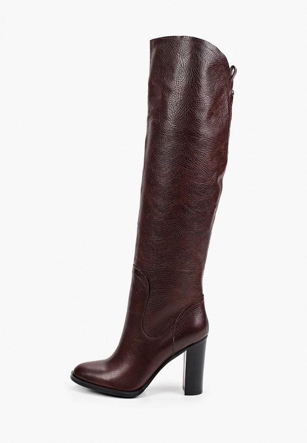 женские ботфорты basconi, коричневые
