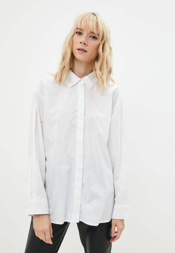женская рубашка с длинным рукавом incity, белая