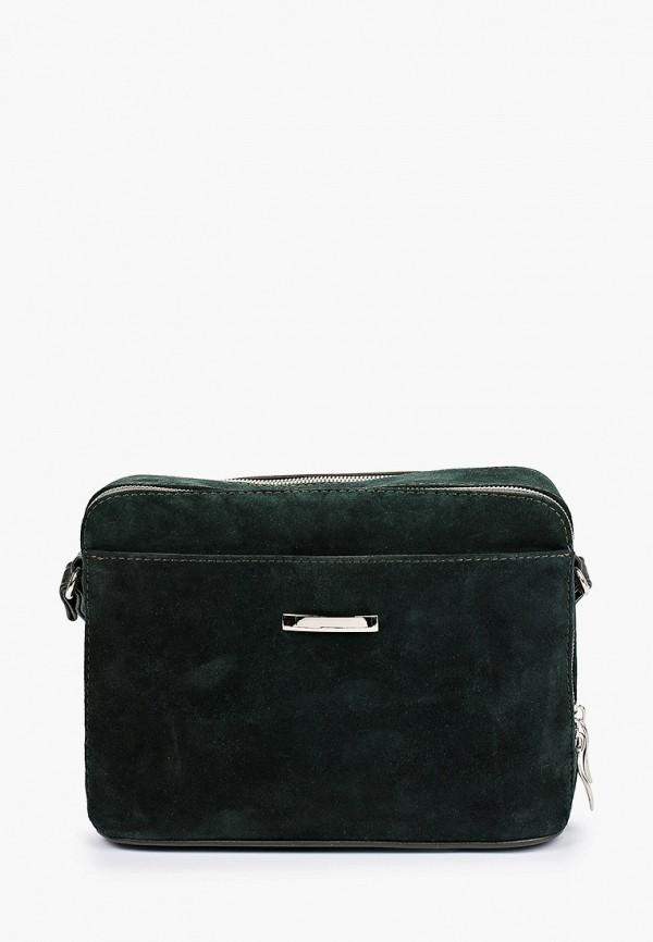 женская сумка через плечо rosedena, зеленая