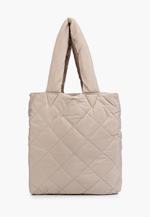 женская сумка-шоперы incity, бежевая