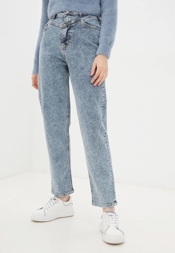 женские джинсы бойфренд jlab, синие