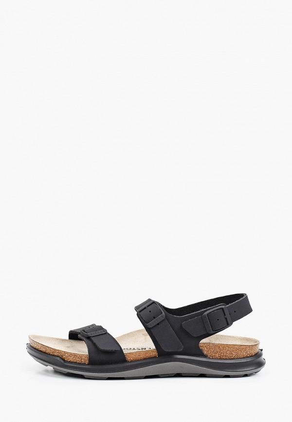 женские сандалии birkenstock, черные